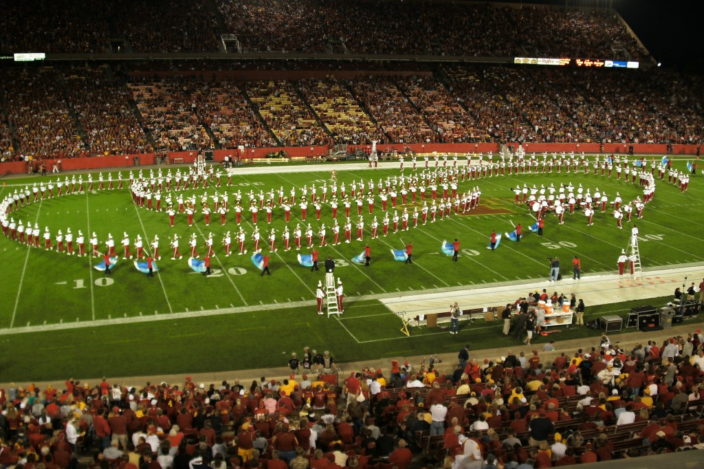 The Iowa State Varsity Marching Band #2