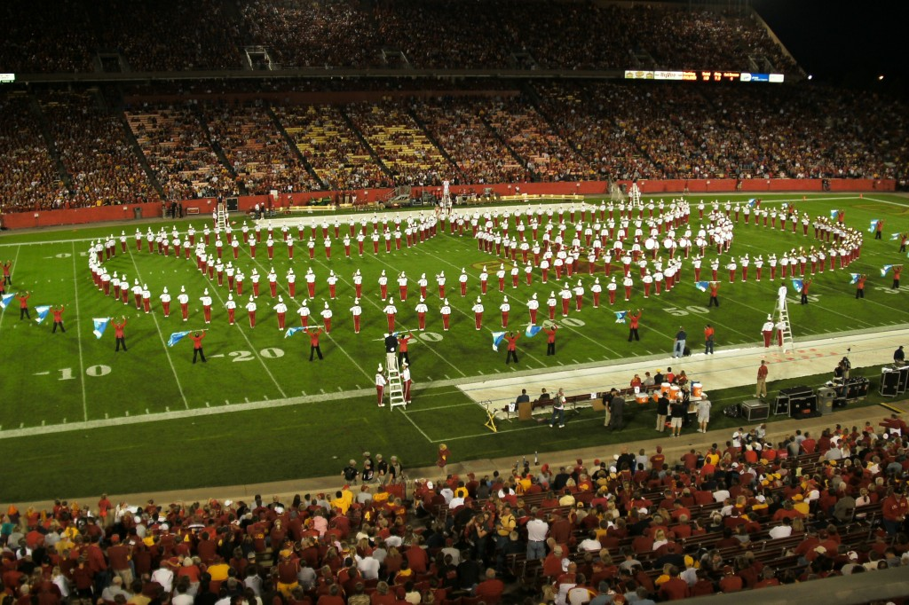 The Iowa State Varsity Marching Band