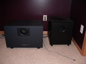 "12"" Mitsubishi vs 12"" Parts Express Subwoofer"