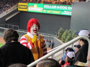 Ronald was there!